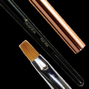 NOVÉ Student line brush - Flat #04 (natural nylon) / SLBR5