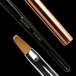 NOVÉ Student line brush - Oval #04 (natural nylon) / SLBR7