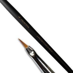 Student line brush - Zhostovo #02 (natural nylon) / SLBR2