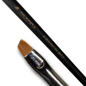 Student line brush - French #02 (natural nylon) / SLBR3